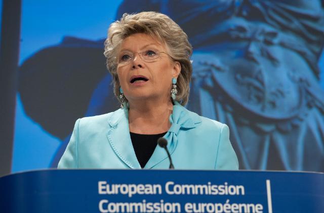Viviane Reding - EU-Kommisarin  - Justiz und Bürgerrechte